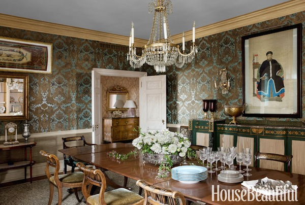house beautiful dining rooms | House Beautiful Makeovers | Timeless on Park Avenue