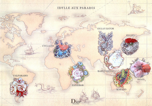 Dazzled at Dior