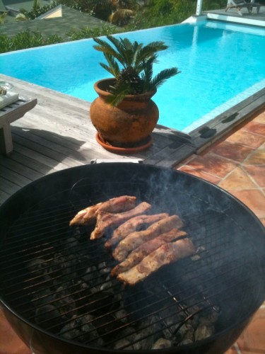 how to cook pork back ribs on the grill
