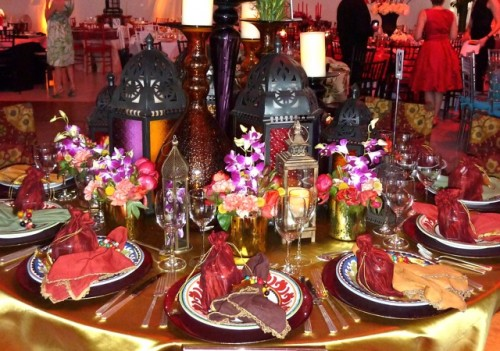 Fruit Table Setting - Moroccan Table Setting Moroccan Table Setting
