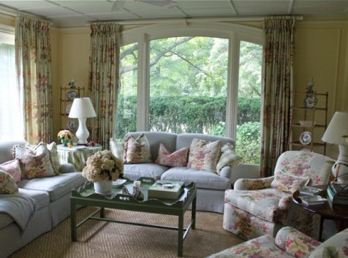 A home of timeless elegance quintessence for Morning room designs