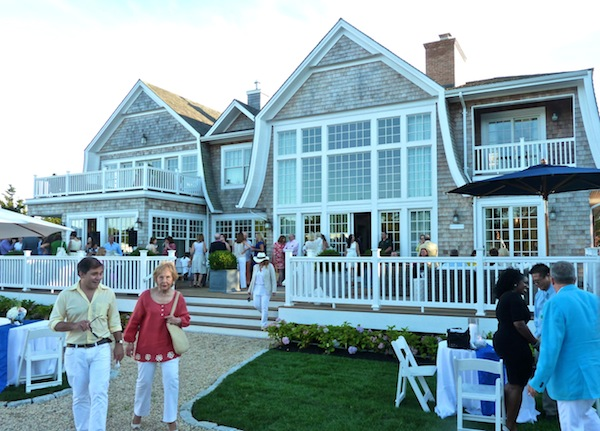 Back view of the Hampton Designer Showhouse