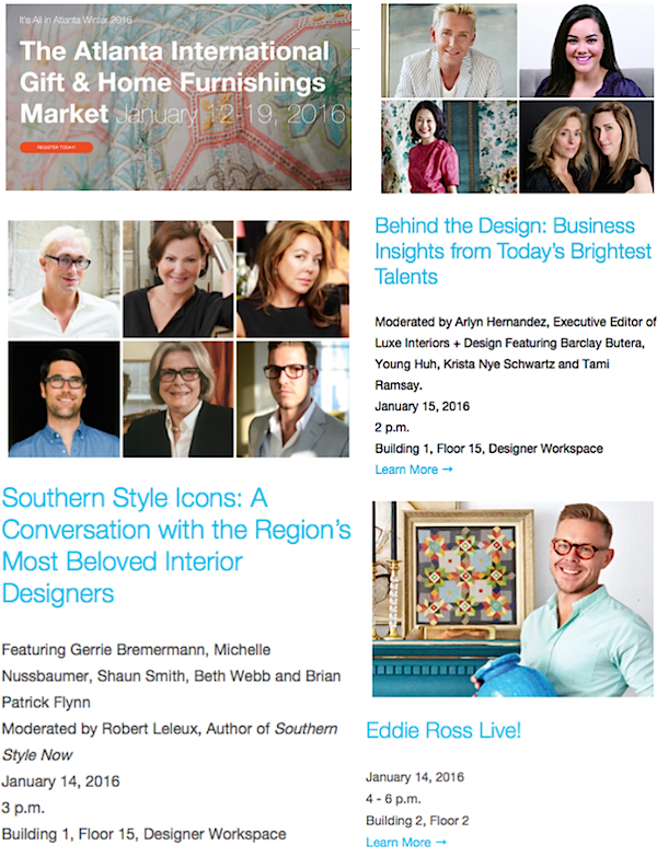 Americasmart January Market Seminars