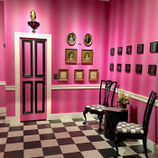 Elle Shushan booth at Winter Antiques Show