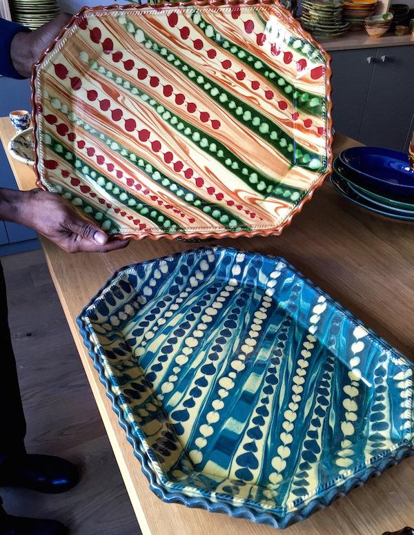 Au Peigne pottery at La Tuile a Loup