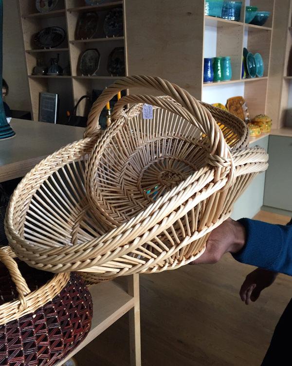 Baskets from Perigord at La Tuile a Loupe