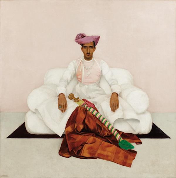 Boutet de Monvel, Le Maharadjah d'Indore
