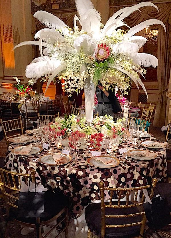 Bowman Dahl 2016 Orchid Dinner table