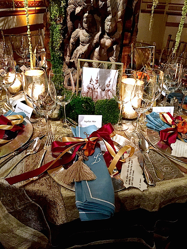 Katie Leede 2016 Orchid Dinner table