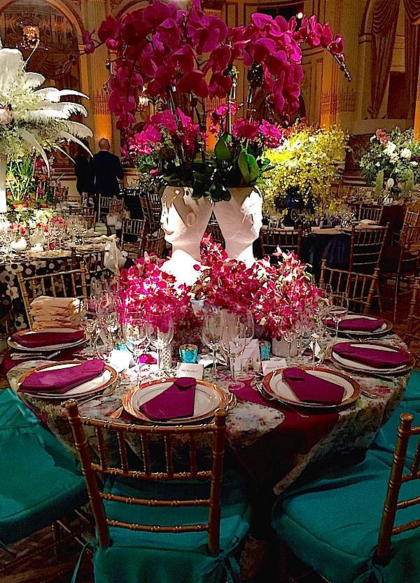 Nick Olsen 2016 Orchid Dinner table