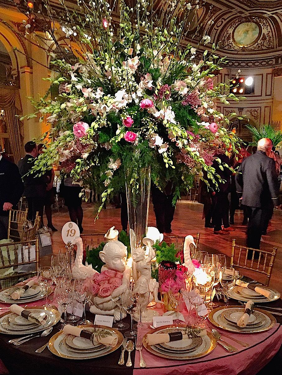 Rod Winterrowd 2016 Orchid Dinner table