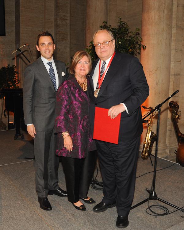 New York School Of Interior Design Gala   Jim Druckman, Patricia Sovern,  David Sprouls