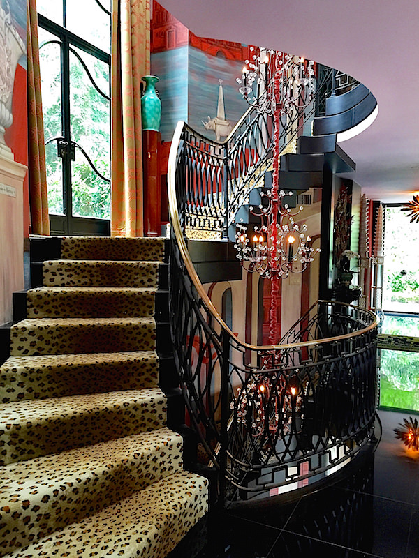 Staircase at Hutton Wilkinson house