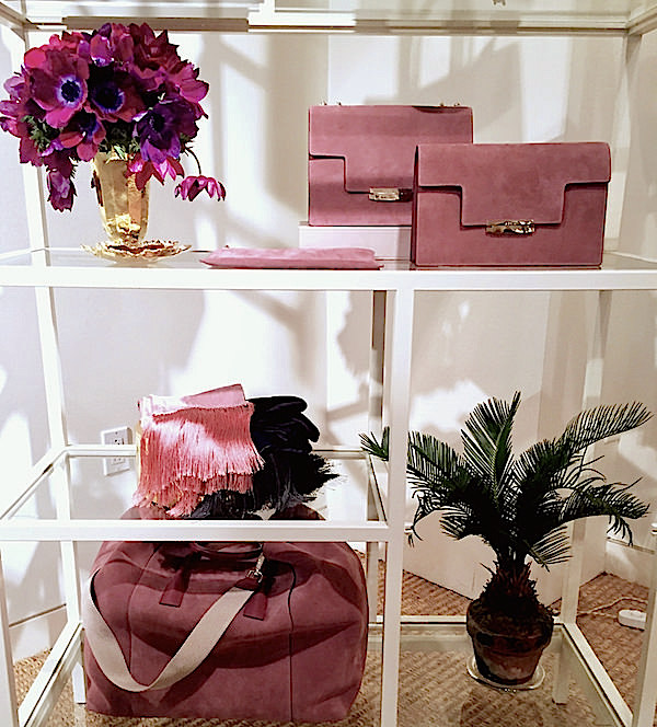 AERIN brown rose fall 2016 accessories