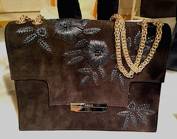 AERIN embroidered fall 2016 accessories