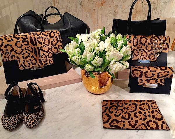 AERIN leopard fall 2016 accessories
