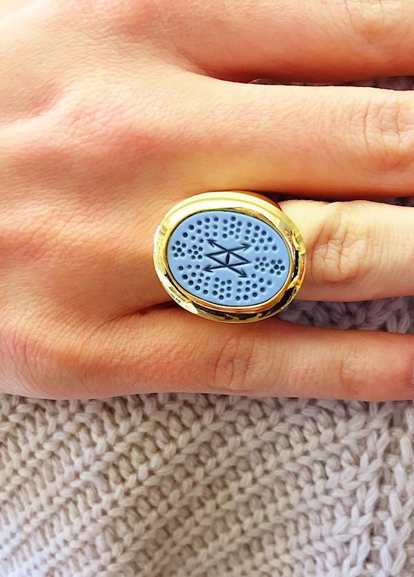 ASHA Bespoke signet ring