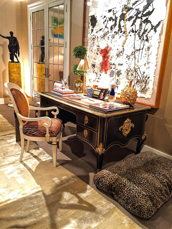 Bunny Williams' living room at Sotheby's Showhouse 2016