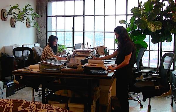 Laura Kirar studio and home in Brooklyn