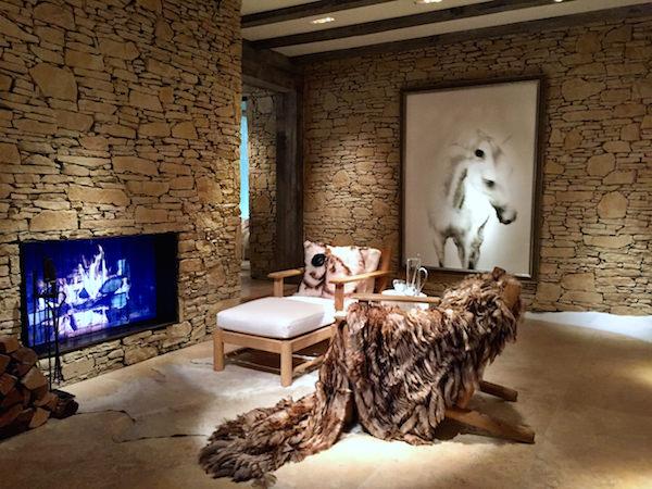 Ralph Lauren Modern Chalet room