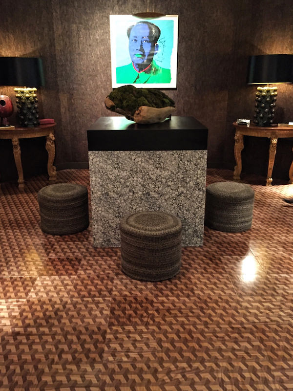Richard Rabel foyer at Sotheby's Showhouse 2016