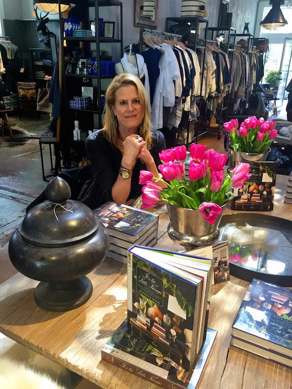 Susanna Salk book signing in J. Seitz