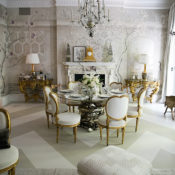 Alex Papachrisitid Kips Bay Showhouse Dining Room 1