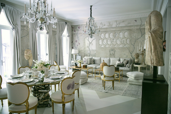 Alex Papachrisitid Kips Bay Showhouse Dining Room