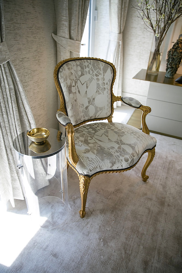 Chair in Drake Anderson Kips Bay bedroom