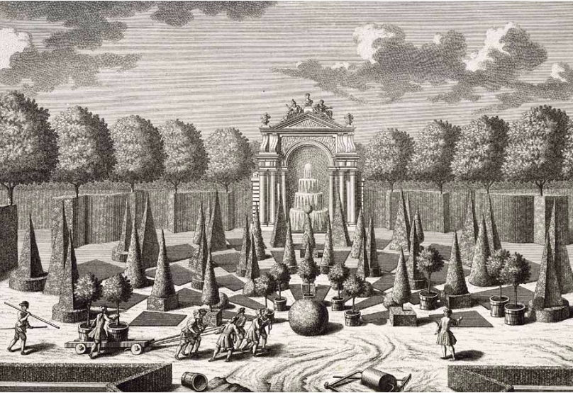 New york botanical garden celebrates 125 years quintessence for Garden design 18th century