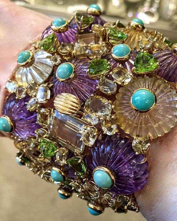 Hutton Wilkinson Tony Duquette bracelet