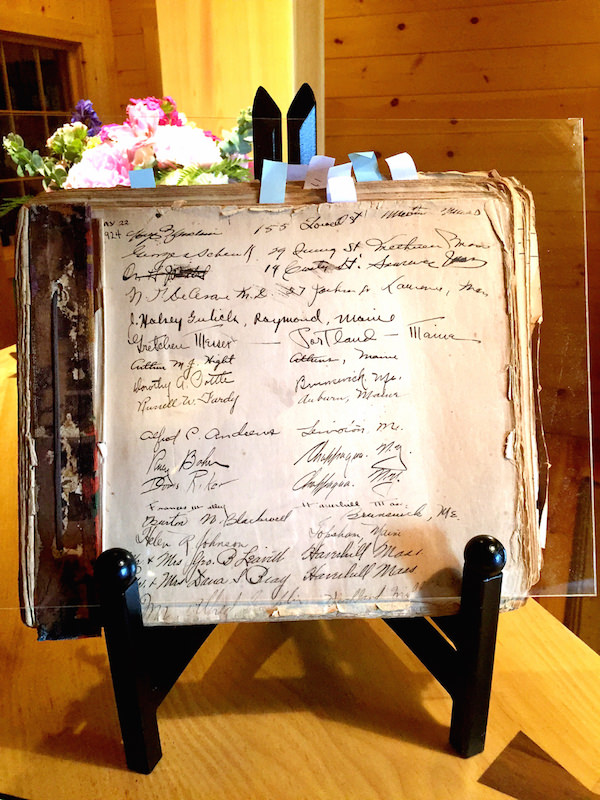 Migis 1924 guest register