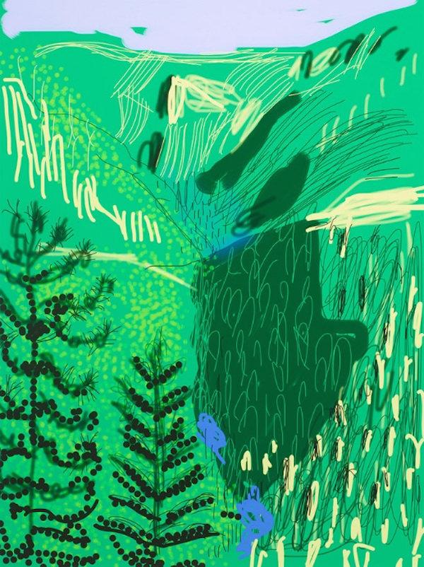 David Hockney at Pace Gallery