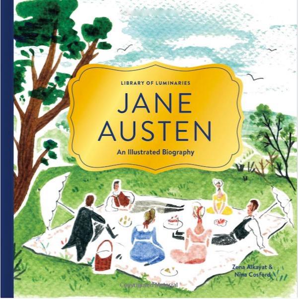 Jane Austen illustrated biography - Quintessence