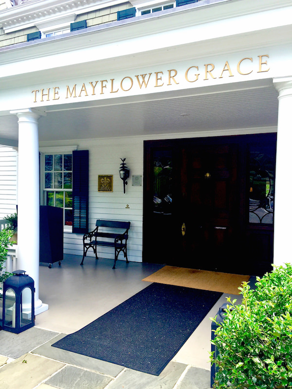 Weekend Travels - the Mayflower Grace