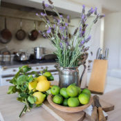 kitchen vignette at Patina Farm