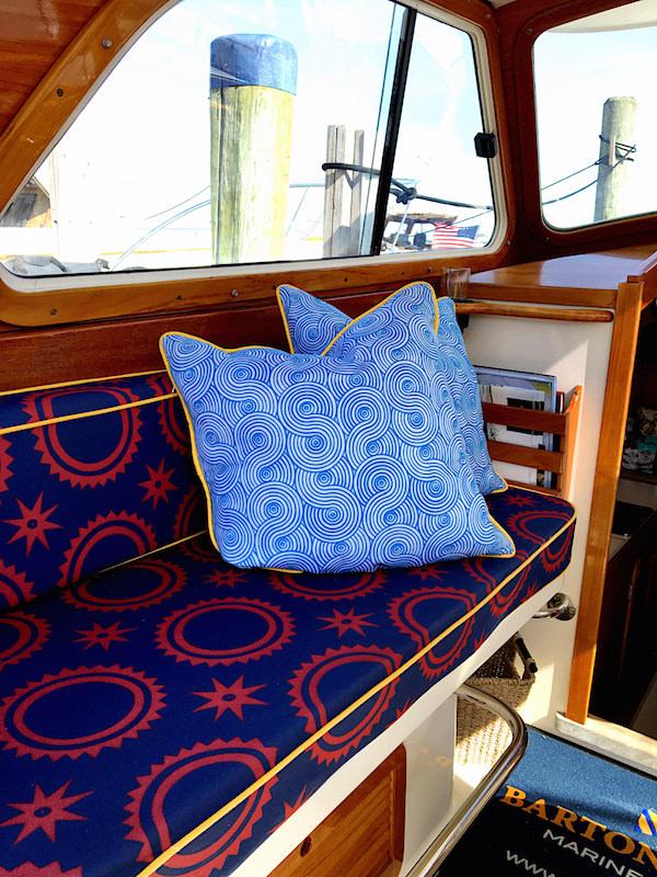 Audrey Sterk + Barton & Gray yachting