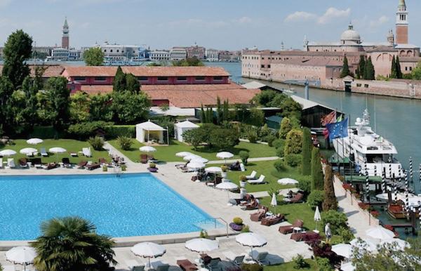 Cipriani pool, Venice-1
