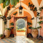 Excellence Villas - Entry at Villa Andres Positano