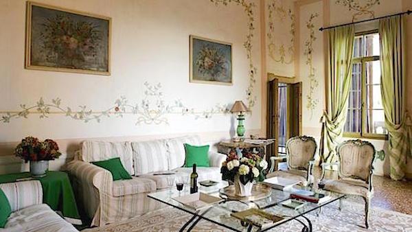 Excellence Villas - Villa Emo Capodilista sitting room