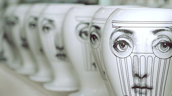 Fornasetti pottery