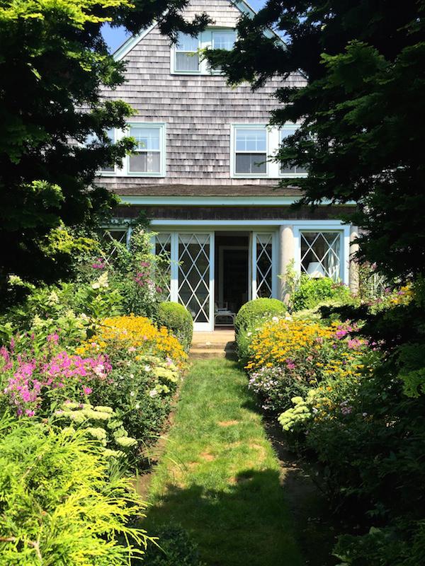Grey Gardens view from gardens