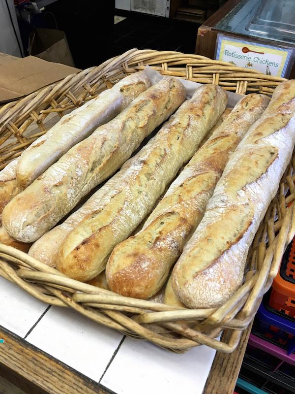 Sconset market baguettes