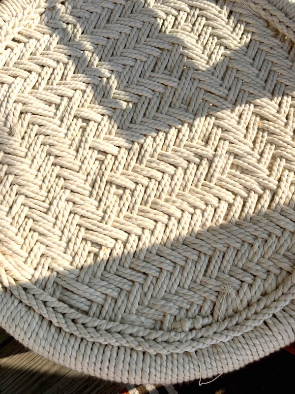 Space Nantucket rope table
