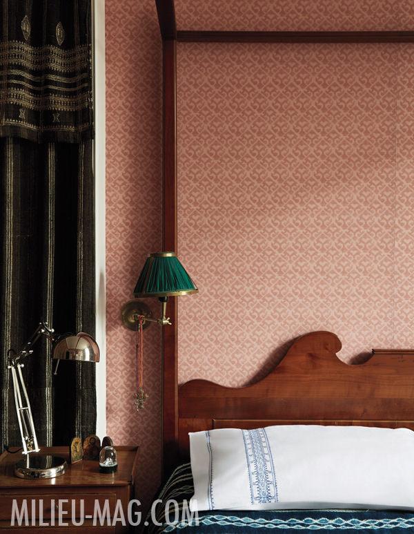 Carolina Irving Paris bedroom, photo by Miguel Flores-Vianna for Milieu Magazine