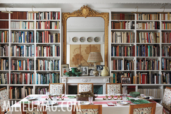 Carolina Irving dining room, photo Miguel Flores-Vianna for Milieu Magazine