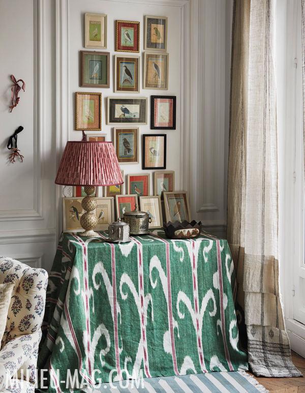 Carolina Irving Paris apartment, photo by Miguel Flores-Vianna for Milieu magazine