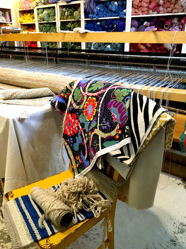 Josef Frank fabrics at the Weaving Room, Nantucket