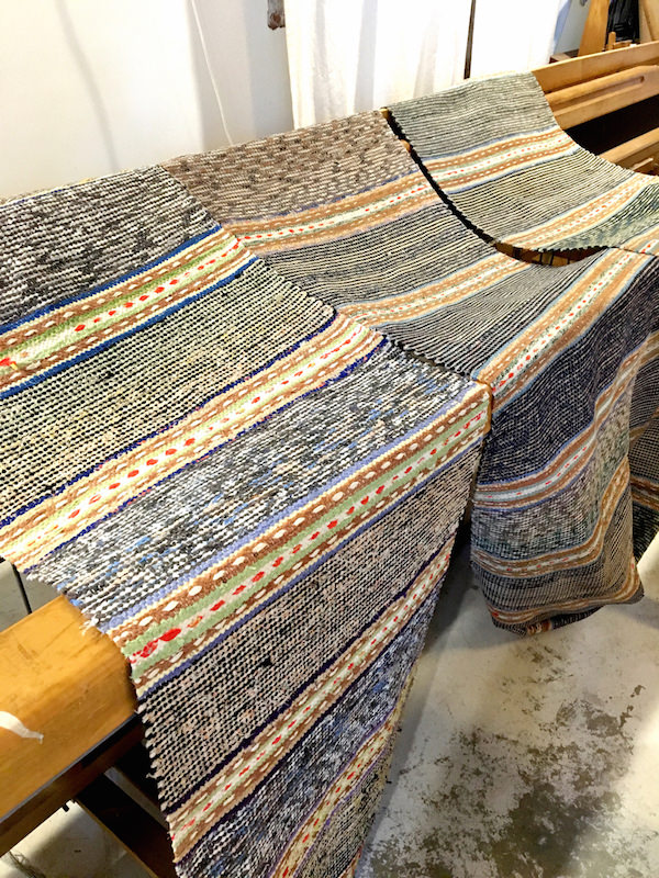 Vintage rugs at The Weaving Room, Nantucket