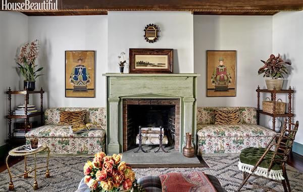 Tilton Fenwick in House Beautiful